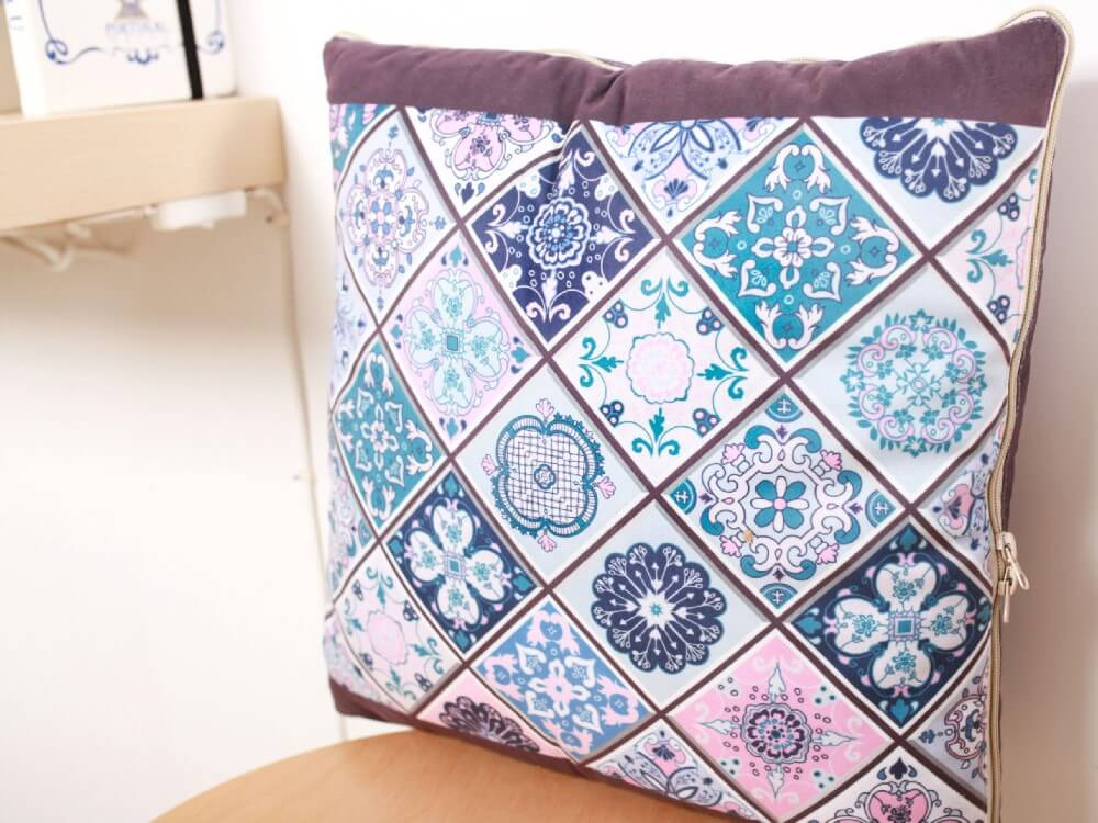 Cushion quilt-portuguese pattern (Custom)