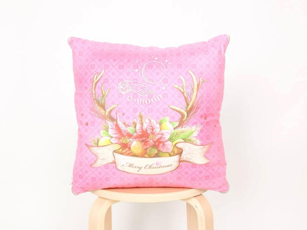 cushion-Christmas deer (Custom)